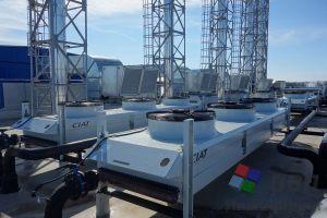 Аппараты воздушного охлаждения технологических контуров ГПУ
