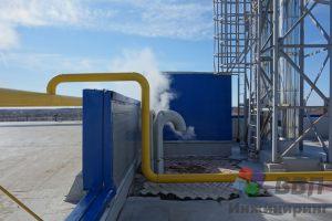 Вводной газопровод и выпар модуля конденсата
